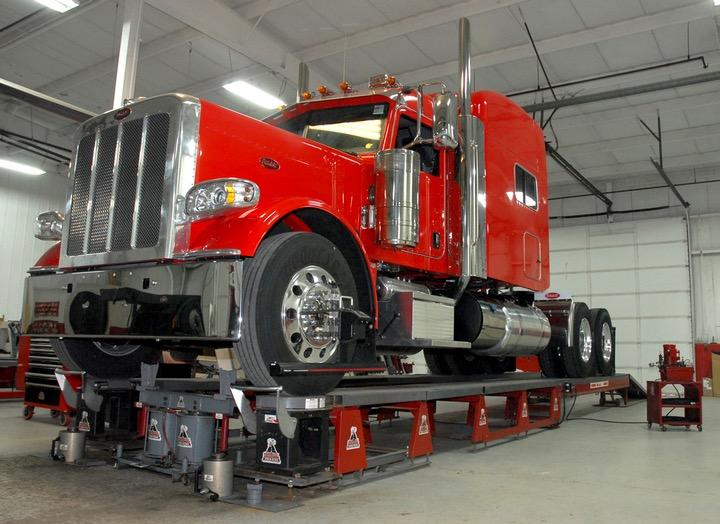 Semi-truck alignment